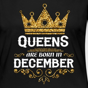 Queens are born in December Long Sleeve Shirts - Women's Premium Longsleeve Shirt