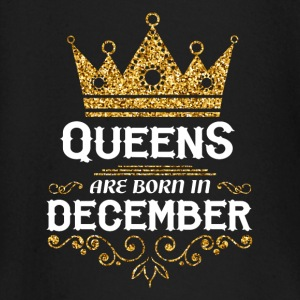 Queens are born in December Baby Long Sleeve Shirts - Baby Long Sleeve T-Shirt