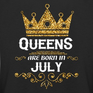 Queens are born in July Long Sleeve Shirts - Kids' Premium Longsleeve Shirt