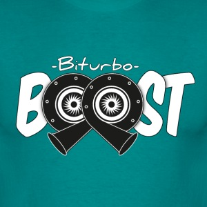 Biturbo Boost - Turbolader - Männer T-Shirt