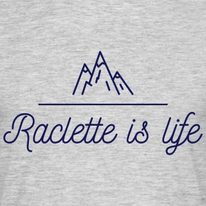 Raclette is life Tee shirts - T-shirt Homme