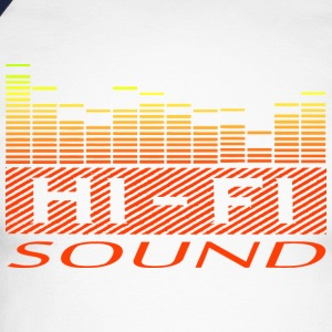 sound equalizer Long sleeve shirts - Men's Long Sleeve Baseball T-Shirt