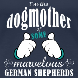Dogmother some German Shepherds T-shirts - Vrouwen Premium T-shirt
