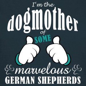 Dogmother some German Shepherds Tee shirts - T-shirt Femme