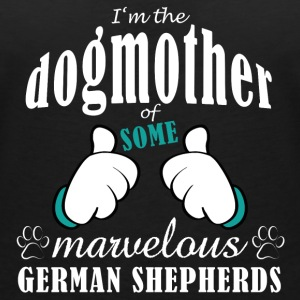 Dogmother some German Shepherds T-Shirts - Women's V-Neck T-Shirt