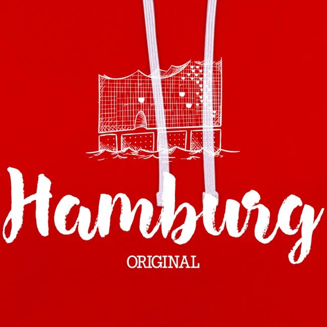 Hamburg Elphi weiß Pullover & Hoodies