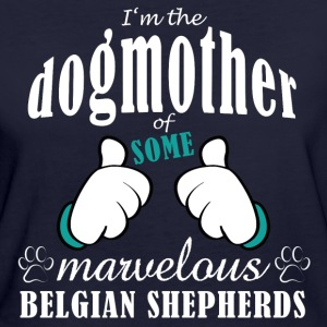 Dogmother some Belgian T-shirts - Vrouwen Bio-T-shirt