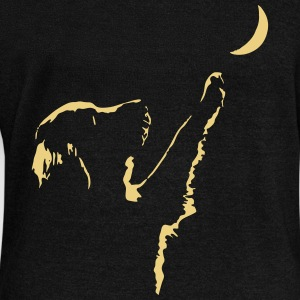 dog moon Hoodies & Sweatshirts - Women's Boat Neck Long Sleeve Top