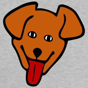 "Shirts mit Tier-Motiv ""Hunde Kopf"""
