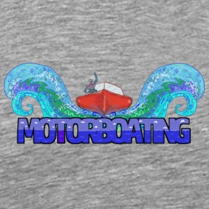 Love Motorboating - Men's Premium T-Shirt