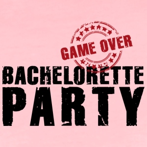 Team Bride game over Bachelorette Party JGA - Frauen Premium T-Shirt