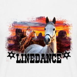 kl_linedance17 T-Shirts - T-skjorte for menn