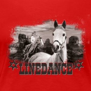 kl_linedance17a T-Shirts - Camiseta premium mujer