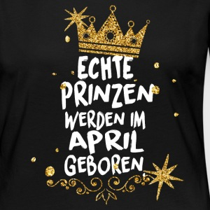 Real princes are born in April Long Sleeve Shirts - Women's Premium Longsleeve Shirt