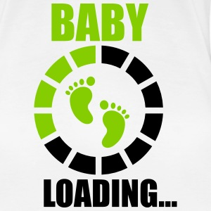 Baby laading, Funny pregnancy,pregnant  - Women's Premium T-Shirt