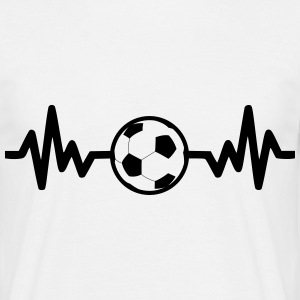 Football is life, Funny Football - Men's T-Shirt
