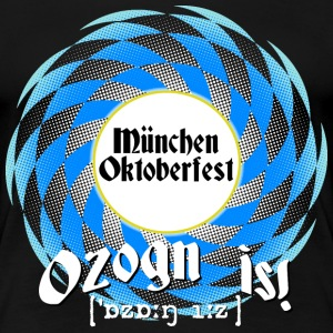 Ozogn is - dunkle Shirts - Frauen Premium T-Shirt