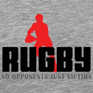Rugby No Opponents Just Victims - Men's Premium T-Shirt