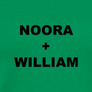 Noora och William - Premium-T-shirt herr
