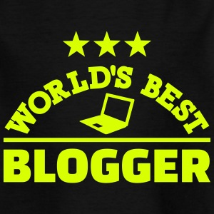 Blogger T-Shirts - Kinder T-Shirt