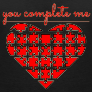 I'm completely with you T-Shirts - Women's V-Neck T-Shirt