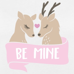 Be mine Rehe T-Shirts - Frauen Oversize T-Shirt
