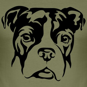bulldogge T-Shirts - Männer Slim Fit T-Shirt