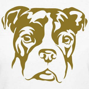 bulldogge T-Shirts - Frauen Bio-T-Shirt