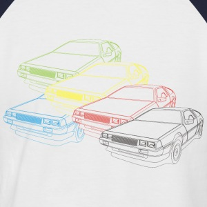 Back to the 80s - Männer Baseball-T-Shirt