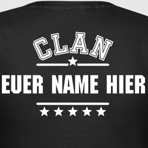 Dein Clan Dein Text T-Shirts - Frauen T-Shirt