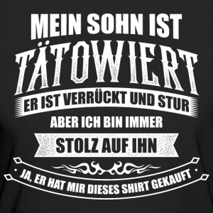 Tattoo Tätowiert Tattoos Sohn Vatertag T-Shirts - Frauen Bio-T-Shirt