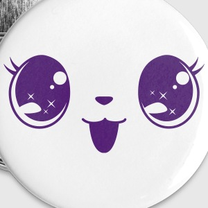 Happy little kitty Buttons & Anstecker - Buttons groß 56 mm