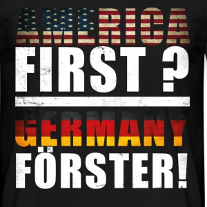 America First Germany  T-Shirts - Männer T-Shirt