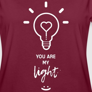 you are my light T-shirts - Vrouwen oversize T-shirt