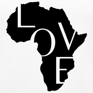 AFRICA LOVE Tops - Women's Premium Tank Top