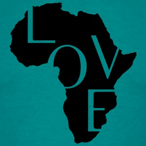 AFRICA LOVE T-Shirts - Men's T-Shirt
