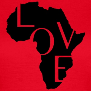 AFRICA LOVE T-Shirts - Women's T-Shirt