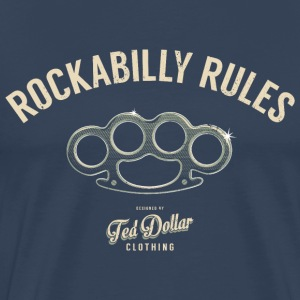 Rockabilly Rules - T-shirt Premium Homme