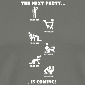 The Next Party is coming. - Männer Premium T-Shirt