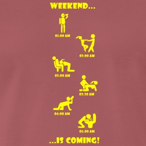 Weekend is coming - Männer Premium T-Shirt