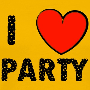 I love Party - Männer Premium T-Shirt