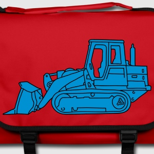 Bulldozer excavatore 2  Bags & Backpacks - Shoulder Bag