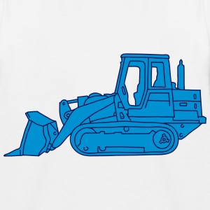 Bulldozer excavatore 2  Shirts - Kids' Baseball T-Shirt