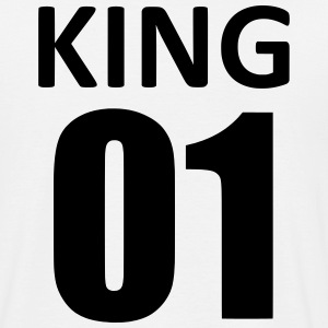 king 01 Tee shirts - T-shirt Homme