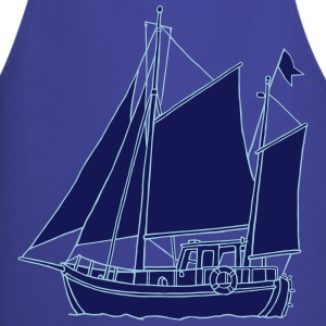 Sailing boat 2  Aprons - Cooking Apron