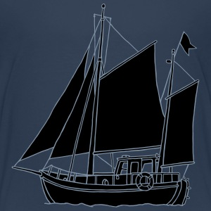 Sailing boat 2 Shirts - Teenage Premium T-Shirt