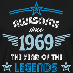 Awesome since 1969 - Männer T-Shirt