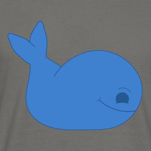 Simple Whale Cartoon