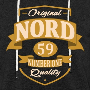 Nord Sweat-shirts - Sweat-shirt à capuche léger unisexe