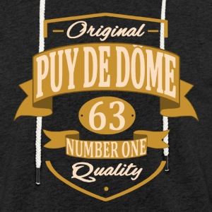 Puy De Dôme Sweat-shirts - Sweat-shirt à capuche léger unisexe